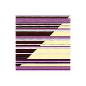 Chocolate Transfer Sheet Black Currant Stripes