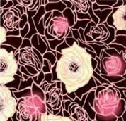 Chocolate Transfer Sheet Garden of Roses