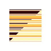 Chocolate Transfer Sheet Orange Stripe