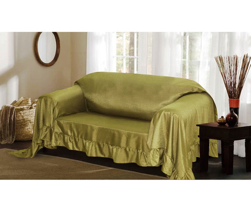 Venice 3 Piece Sofa Loveseat Chair Protector Throw Cover Set Linen Store