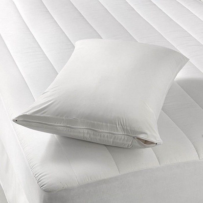 Zippered Vinyl Pillow Cover Linen Store