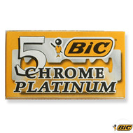 Bic Chrome Platinum Double Edge Blades