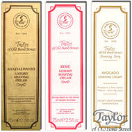 Taylors of Old Bond Street Shaving Cream Tubes