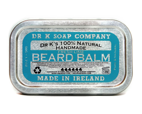 DR K Fresh Lime Beard Balm