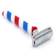 D5735 Omega Barber Pole Razor