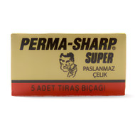 100 Perma Sharp DE Razor Blades