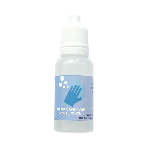 15ml Hand Sanitiser 65% Alcohol