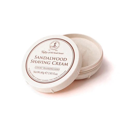 Taylor of Old Bond St Travel Shaving Cream Bowl 60g
