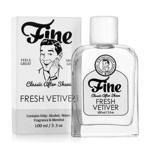 Fine Fresh Vetiver Aftershave