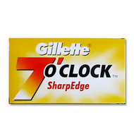Gillette 7 O Clock Sharp Edge DE Blades