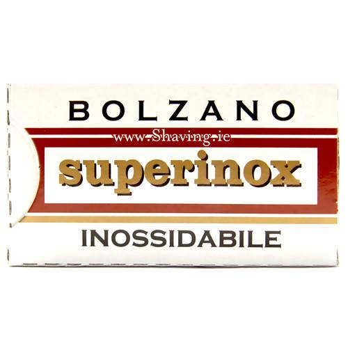 Bolzano Superinox Double Edge Blades