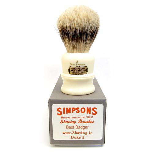 Simpsons Duke 2 Shaving Brush