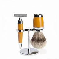Mühle Stylo Butterscotch Shaving Set