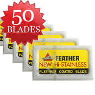 50 Feather Blades