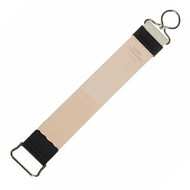 Premium Russian Leather & Hemp Canvas Strop