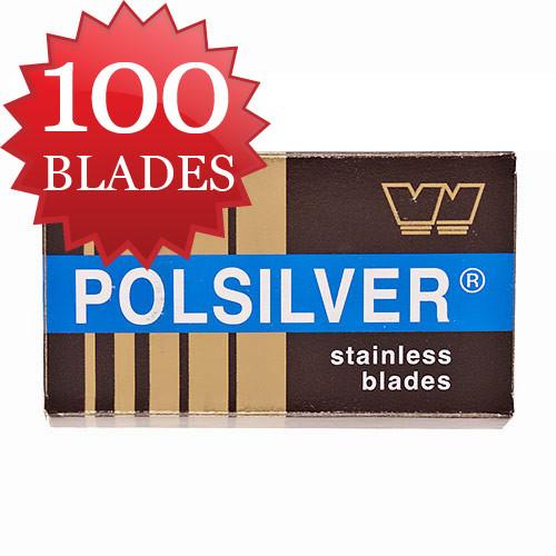 Polsilver Razor Blades