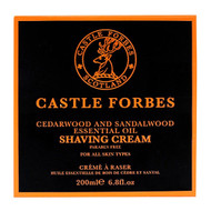 Castle Forbes Cedarwood & Sandalwood Essential Oil Shave Cream