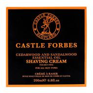 Castle Forbes Cedarwood & Sandalwood Essential Oil Shave Cream