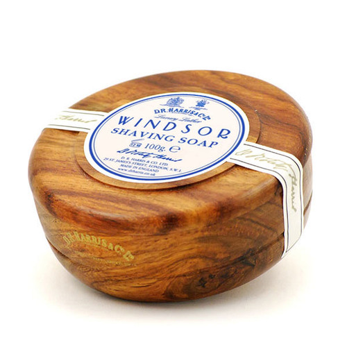 DR Harris Mahogany Windsor Soap Bowl