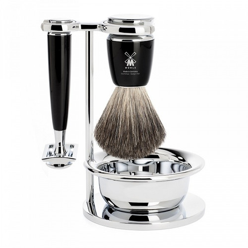 Mühle Rytmo Black 4 Piece Safety Razor Set