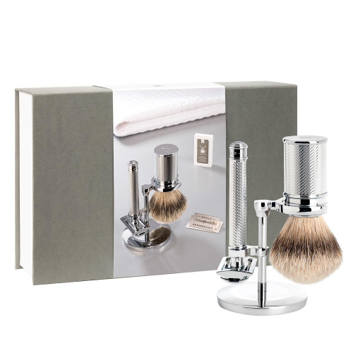 R89 Gift Set TRADITIONAL CHROME from MÜHLE