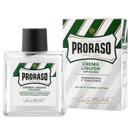 Proraso Green Liquid Cream Aftershave Balm with Eucalyptus and Menthol