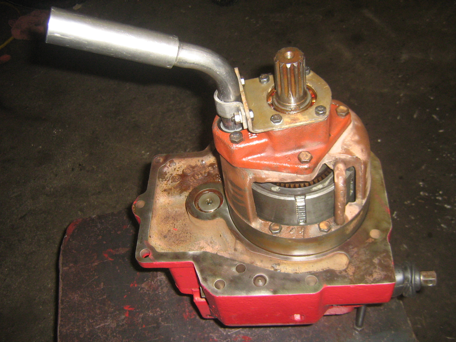 IH Tractor PTO Unit Repair Information - Redrunrite