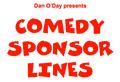 RADIO COMEDY SPONSOR LINES by Dan O'Day (e-book)