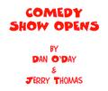 RADIO COMEDY SHOW OPENS by Dan O'Day & Jerry Thomas (e-book)