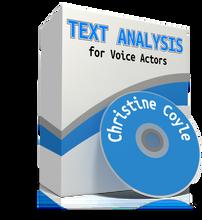 Voiceover Text Analysis