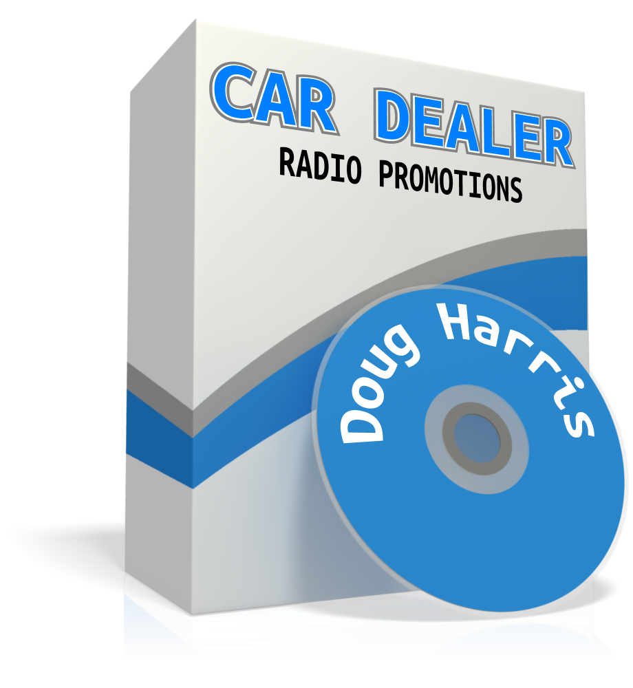 CAR DEALER RADIO PROMOTIONS by Doug Harris (mp3 download)