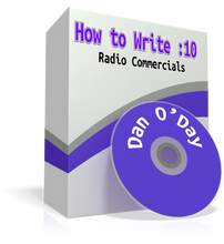 How to write ten-second radio commercials.