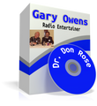 Dr. Don Rose and Gary Owens The Radio Entertainer
