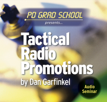 All the different types of radio promotions and when to deploy them.