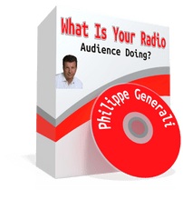 A minute-by-minute view of how your radio programming is performing and how your ratings are being built. www.DanODay.com/radio-audience