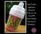"Our uppercase applique ""M"" on our #514 Sippy Cup Template - makes an adorable sippy cup!"
