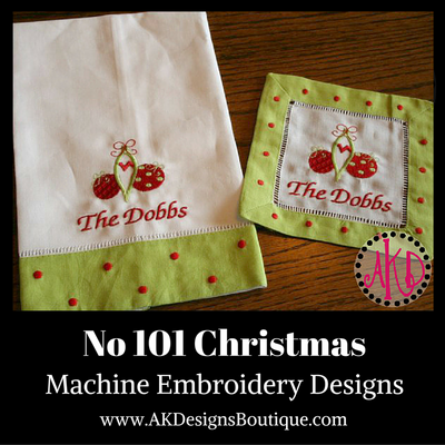 machine embroidery 101