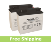 Dynatech SRF 550-2 - UPS Battery Set
