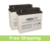Deltec PRA 1000 - UPS Battery Set