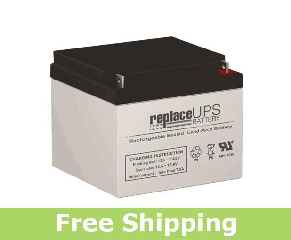 APC AP1200VX Battery Replacement