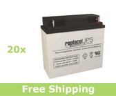 PowerWare PRESTIGE 6000 Extended Battery Pack - UPS Battery Set