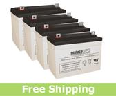 Alpha Technologies CFR 5000E (017-080-XX) - UPS Battery Set