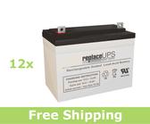 Alpha Technologies EBP 1233-144 (032-060-XX) - UPS Battery Set