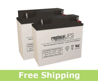 Alpha Technologies 600 - UPS Battery Set