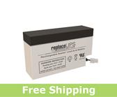 Yuasa NP0.8-12FR - SLA Battery