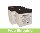 Potter Electric PFC-3002 - Alarm Battery Set