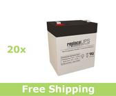 Eaton Powerware PW5125-5/6000 Rackmount - UPS Battery Set