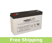 Power Rite PRB610-F2 - SLA Battery