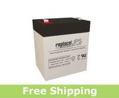 Power Rite PRB124-F2 - SLA Battery