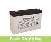 Panasonic LC-R067R2P - SLA Battery